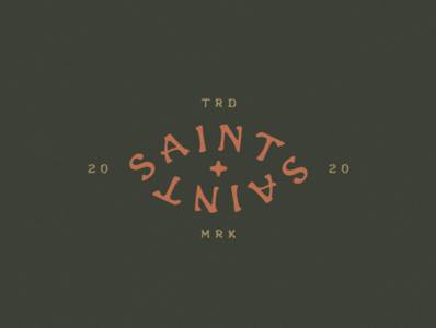 Saints of the Lowlands Logo & Branding colorpalette texas brand texture typedesign typeface type typography southwestern minimal jamescoffman logo lockup illustration font design branding