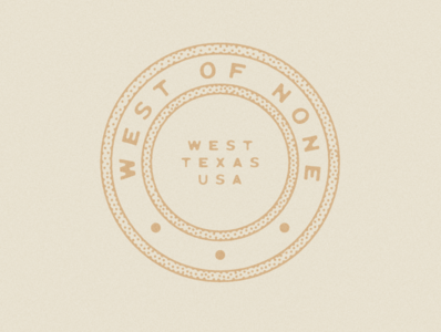 West of None Logo & Branding