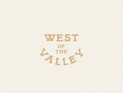 West of the Valley Logo & Branding