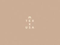 Mexico, Texas, USA Wordmark