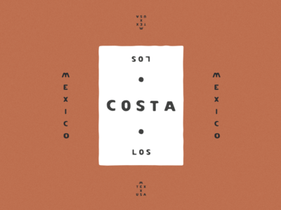 Los Costa Typeface Design