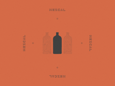 Mezcal Bottle Design & Illustration