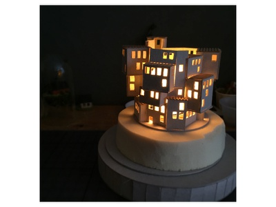 And then there was light detail work in progress night light city micro matter