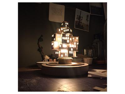Work in progress nr.3 work in progress night light city micro matter