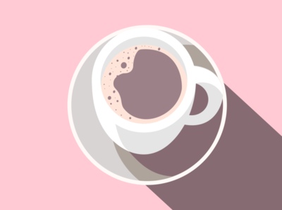 Have a Cup of Tea icon minimal vector illustration design branding icons flatdesign