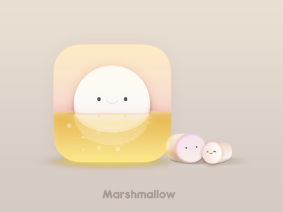 Marshmallow Icon By Baiheng