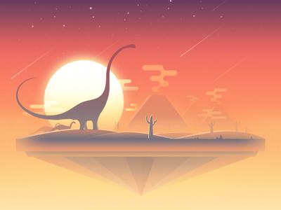 Sky World—Prehistoric Age