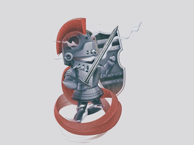 Ghost Knight ghost knight color illustractor
