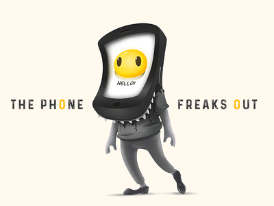 The Phone Freaks Out