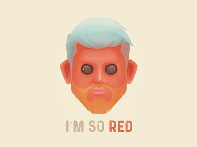 Red Man aline creep man red color illustractor