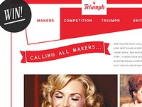 Triumph Maker's Promotion