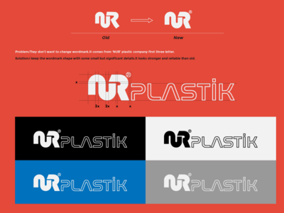 Nur Plastik Brand Identity Re-design