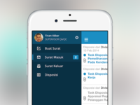 Disposition Email Client — iPhone