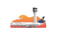 MD-11F Lufthansa Cargo