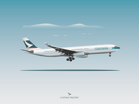 A330-300 Cathay Pacific