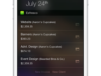 A quick update to Esfresco