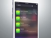 Esfresco Search on iOS 9