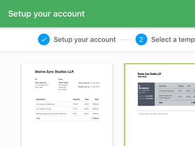 Setup your account