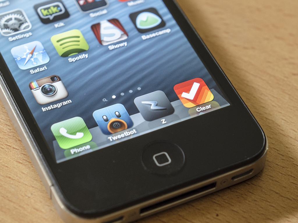 App icon on device
