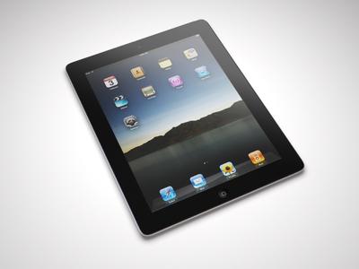 iPad Render