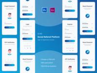 iungo App Redesign - Login & Registration Process