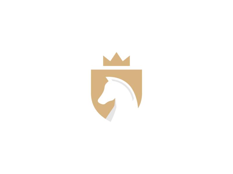 horse shield logo design security logo shield logo shield horse logo horse animal logo animal vector minimal logo illustrator illustration identity flat design branding