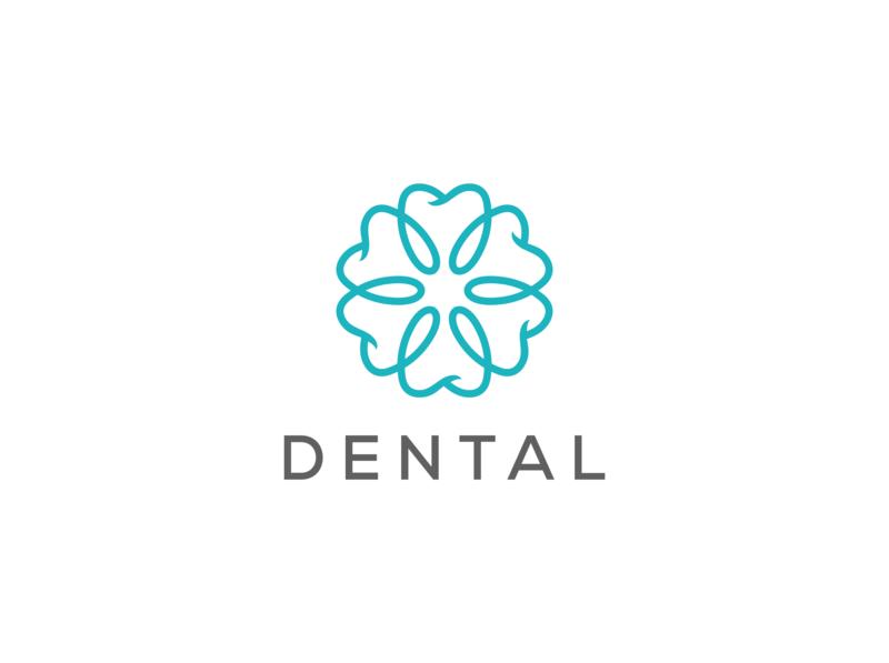 dental logo design tooth teeth dentist logo dentistry dentist dental clinic dental care dental logo dental vector minimal logo illustrator illustration flat identity design branding