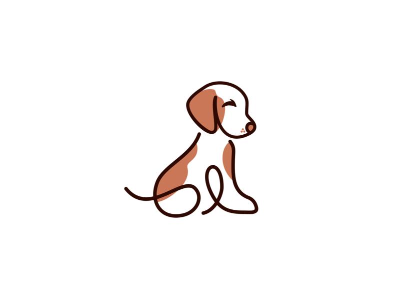 dog logo design pet design pet care pet dog art dog animal logo animal vector minimal logo illustrator illustration identity flat design branding