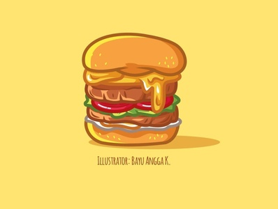 Buger art icon ui logo branding vector art design icon artwork vector artwork vector illustration art flat illustration artwork flatdesign illustration