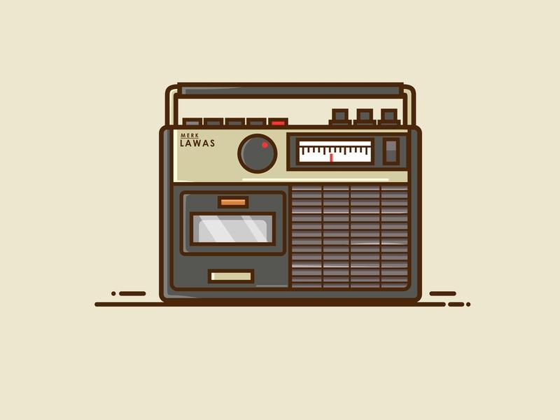 Old Radio by Bayu Angga K on Dribbble