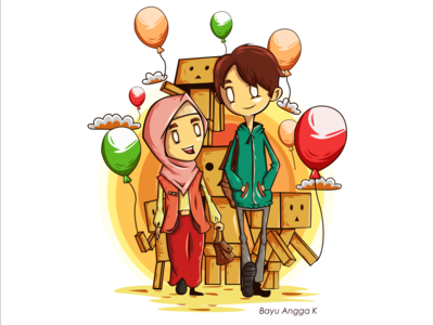 Boy and Girl Friend