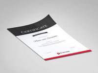 Certificate Of Achievement Branding Design