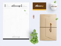 Brown up Branding design