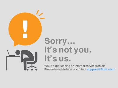 500 Error Page error ui icon pictogram yellow gray