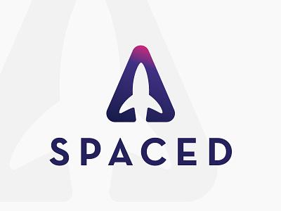 Spaced Ship Logo spacedchallenge spaced design logo