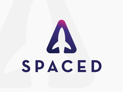 Spaced Ship Logo spacedchallenge spaced design logo
