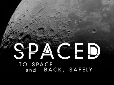 SPACED Type logo spaced design logo spacedchallenge