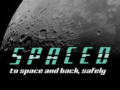 Spaced Type2 spacedchallenge spaced design logo