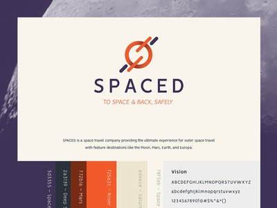 Spaced Logo Mark Breakdown Dribble spaced logo breakdown design logo spacedchallenge