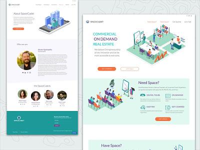 SpaceCadet tech small business startup space web design web design