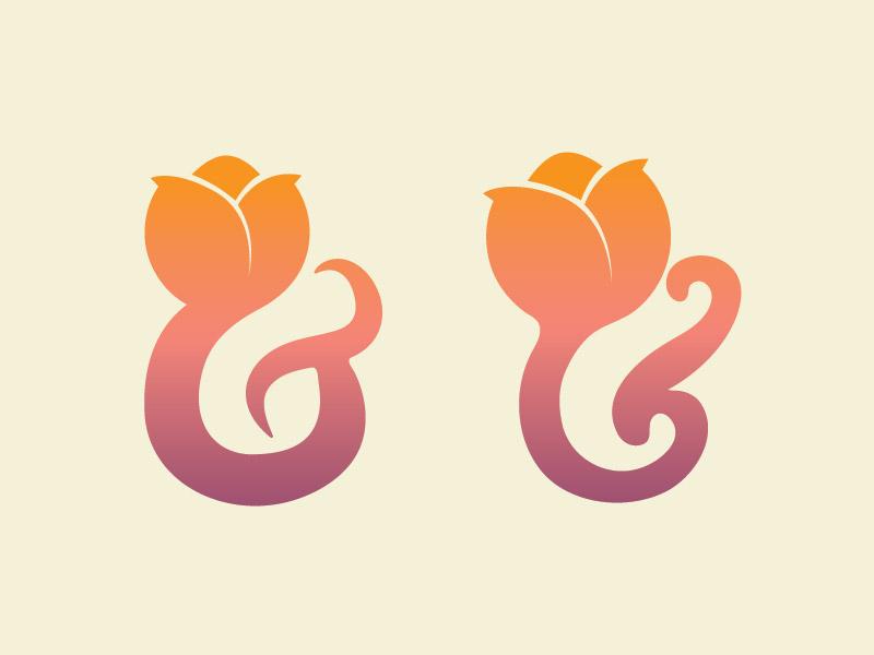 Tulip Ampersand II typography type combo tulip ampersand
