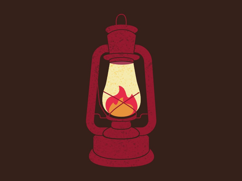 N&H's 30 day Challenge - 4 Elements vector red fire lantern