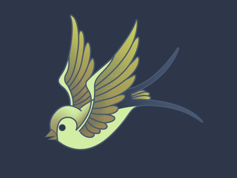Sparrow texture illustrator bird vector