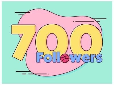 700 followers art follow followers
