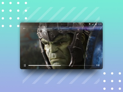 Daily UI 057 - Video Player