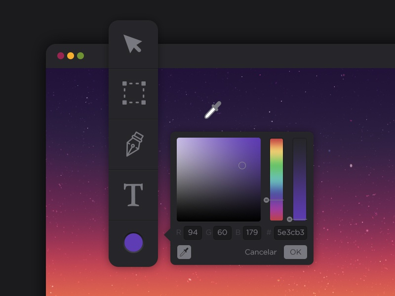 Daily UI 060 - Color Picker tool picker color ui daily