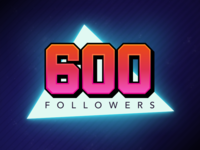 600 Followers