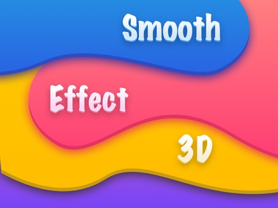 Smooth Effect 3D 3d effect smooth