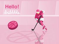 Hokej dribbble1