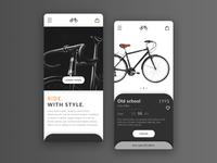 Ecommerce bicycles app
